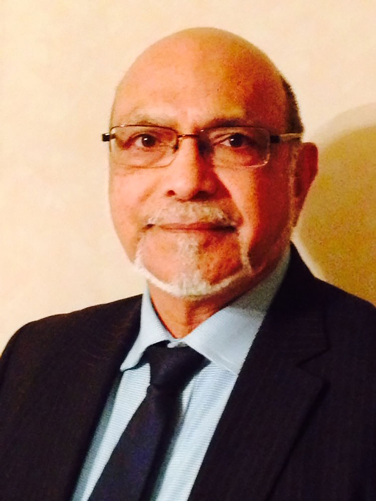 NARENDRA WAGHELA, Treasurer of Leicester Council of Faiths