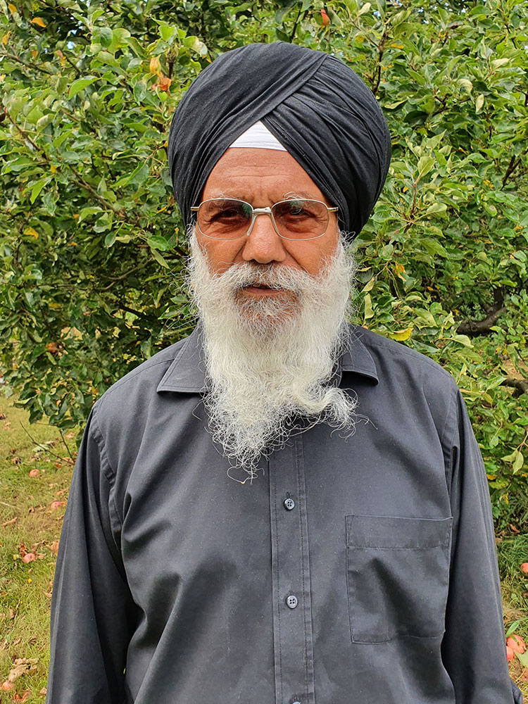 SULAKHAN DARD SINGH, retired NHS Sikh chaplain,